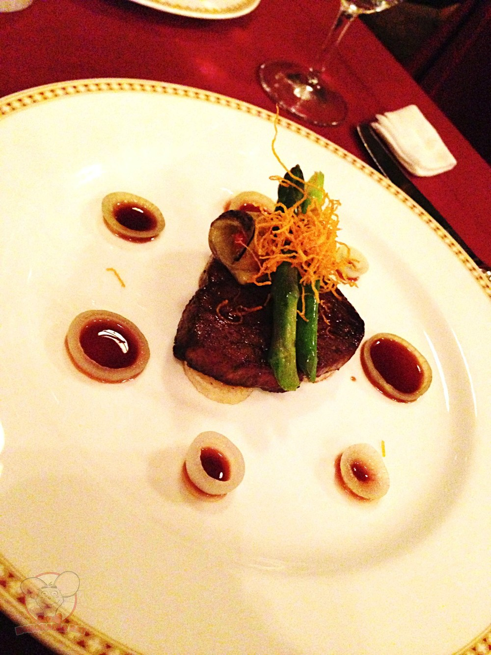 Sauteed Beef Fillet with Red Wine Sauce