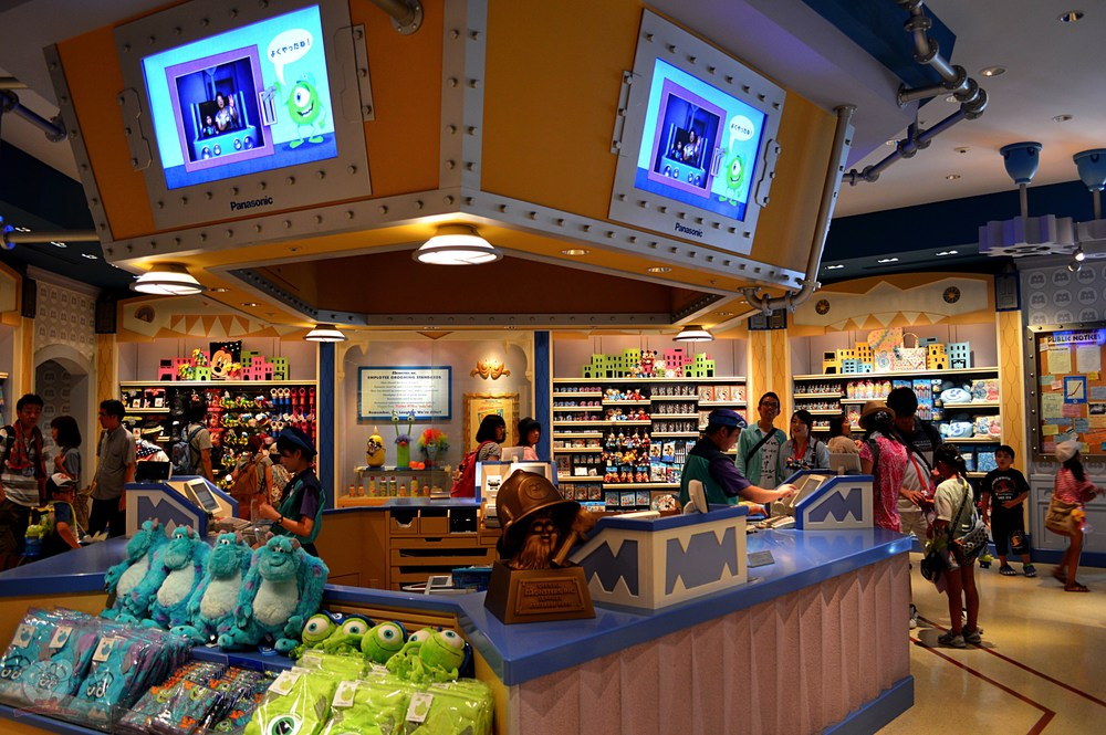 Inside the Monsters, Inc. Store