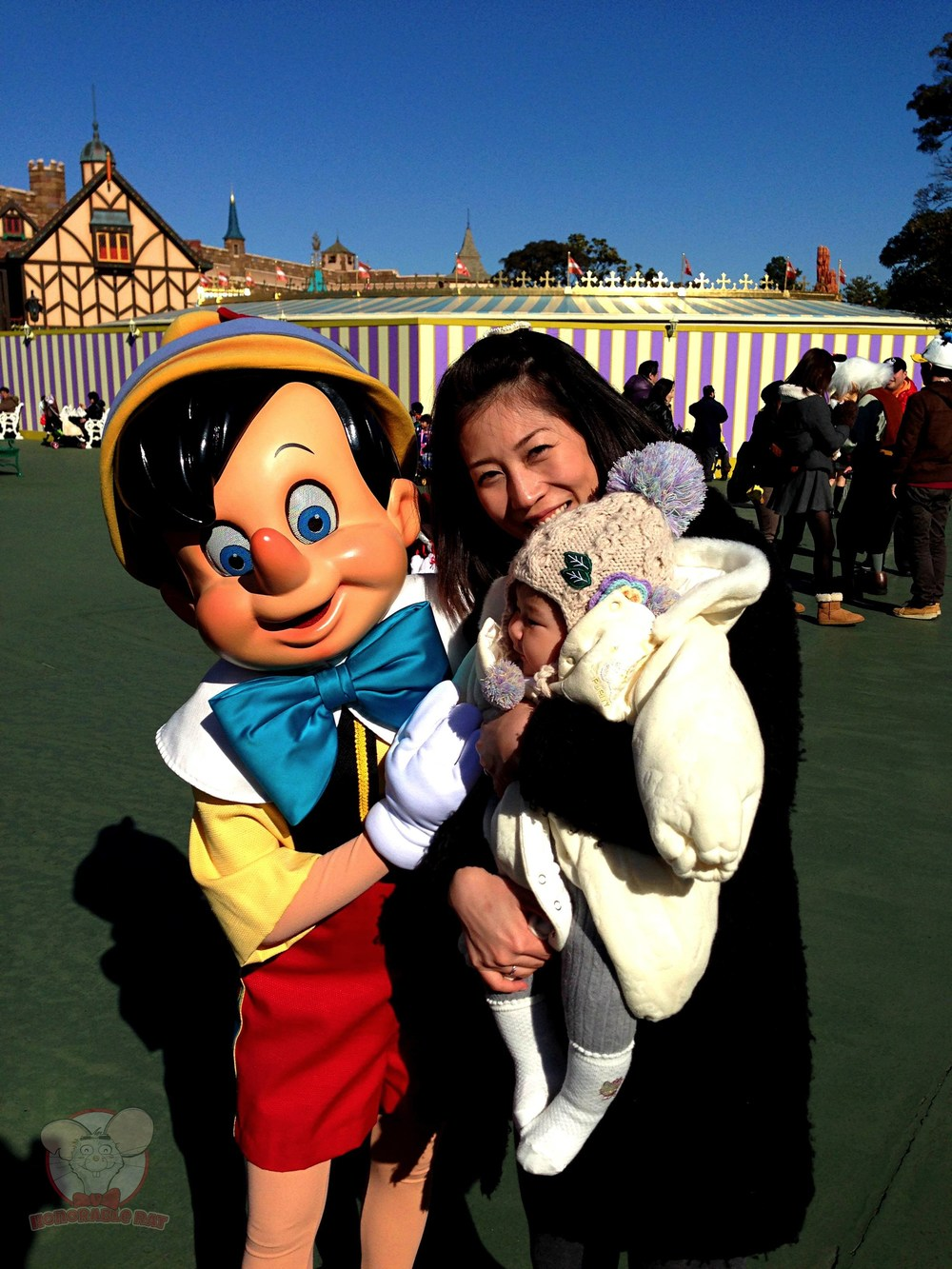 My ladies with Pinocchio