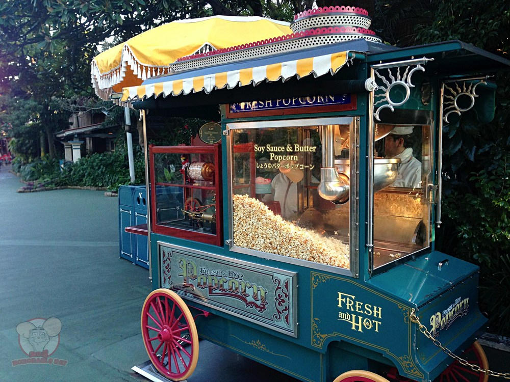 Soy Sauce and Butter popcorn stand