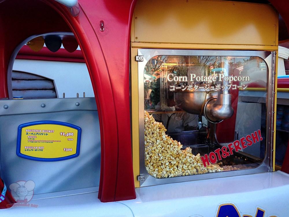 Corn Potage Popcorn stand