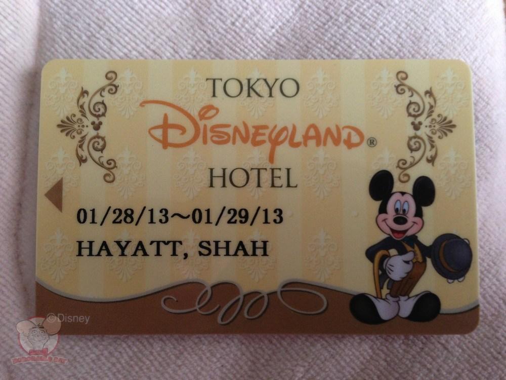 Tokyo Disneyland Hotel's key card