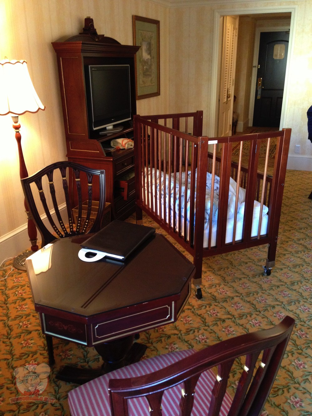 A baby cot for little Mahina