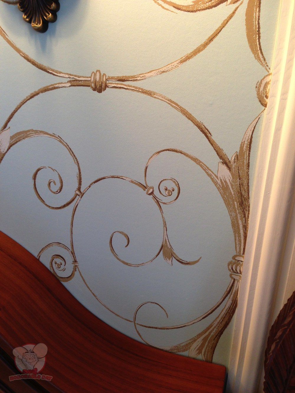 Can you spot the hidden Mickey on this wallpaper?