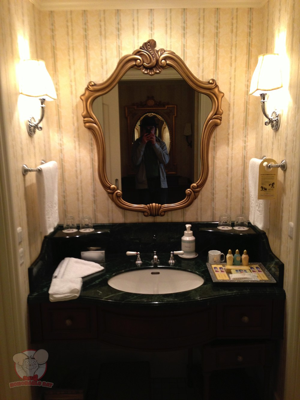 Sink area of the washroom. To the right of this picture is the bathroom and to the left is the toilet