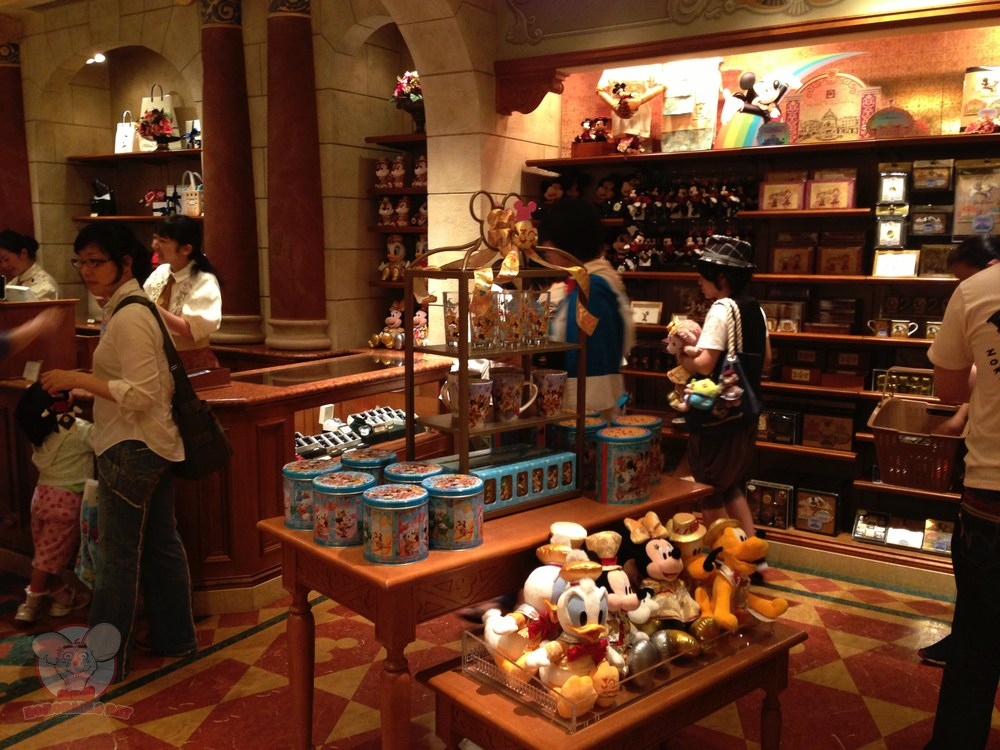 Disney merchandise galore