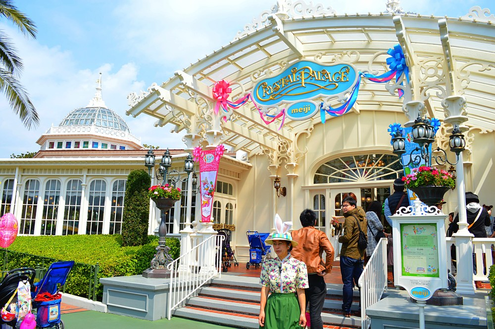 Crystal Palace in Tokyo Disneyland