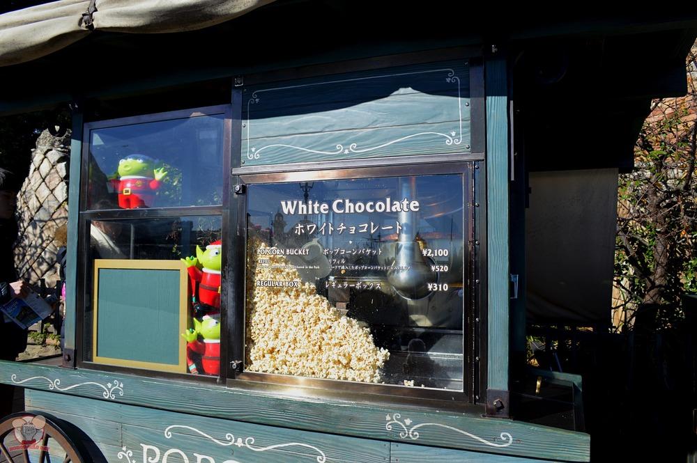 White Chocolate Popcorn Cart