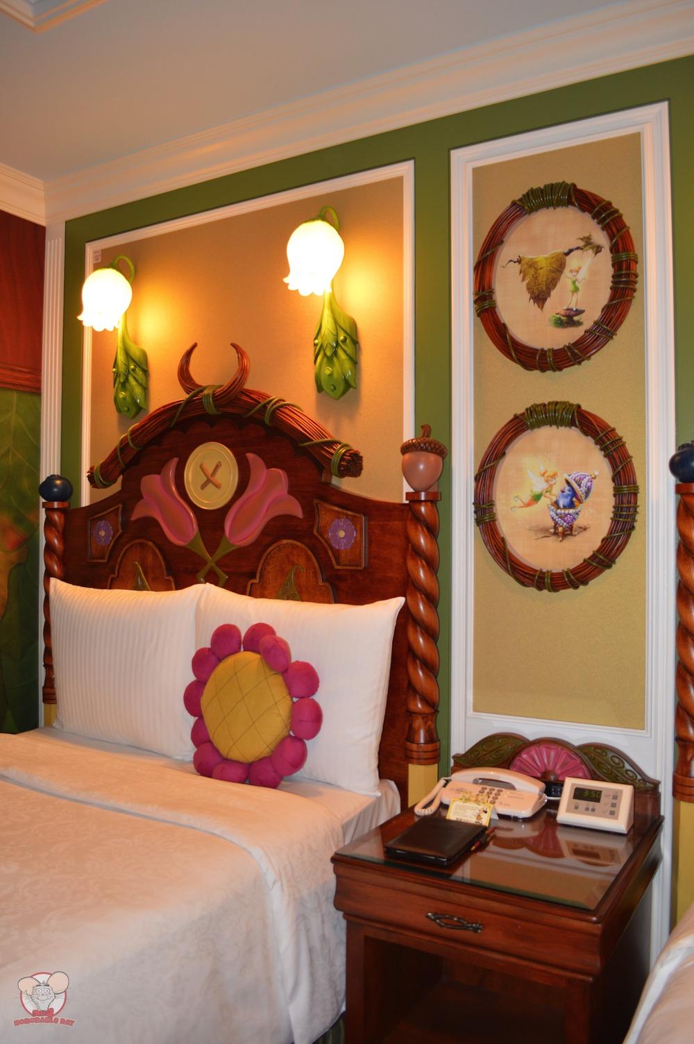Tokyo Disneyland Hotel Tinker Bell Room
