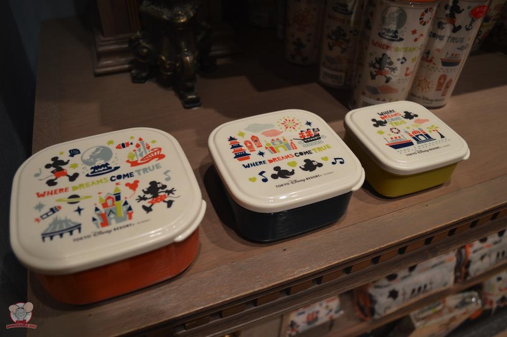 Tokyo Disney Resort Set of 3 Bento Boxes: 1,500 yen