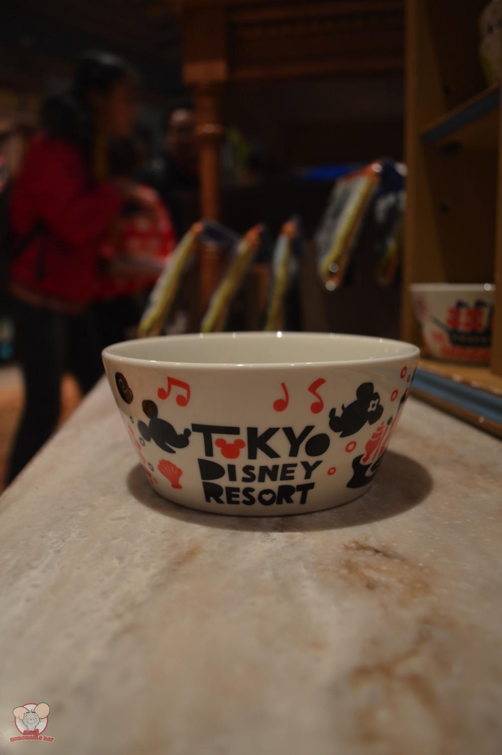 Tokyo Disney Resort Red Bowl (Front): 1,000 yen