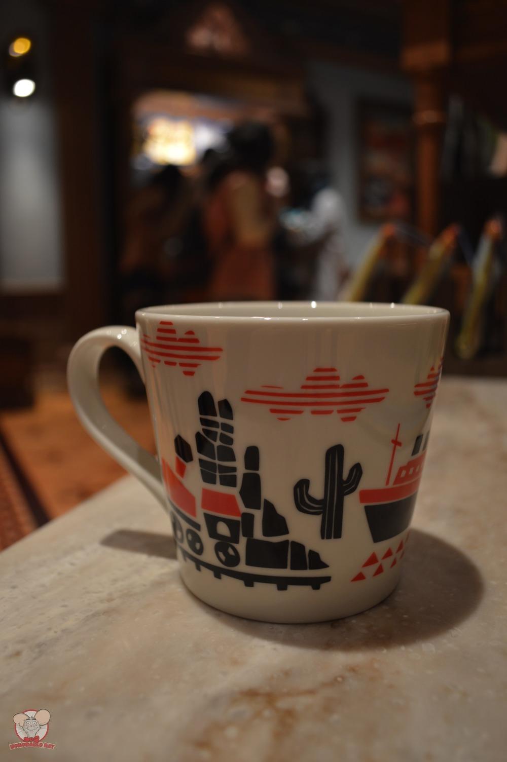 Tokyo Disney Resort Red Mug (Back)