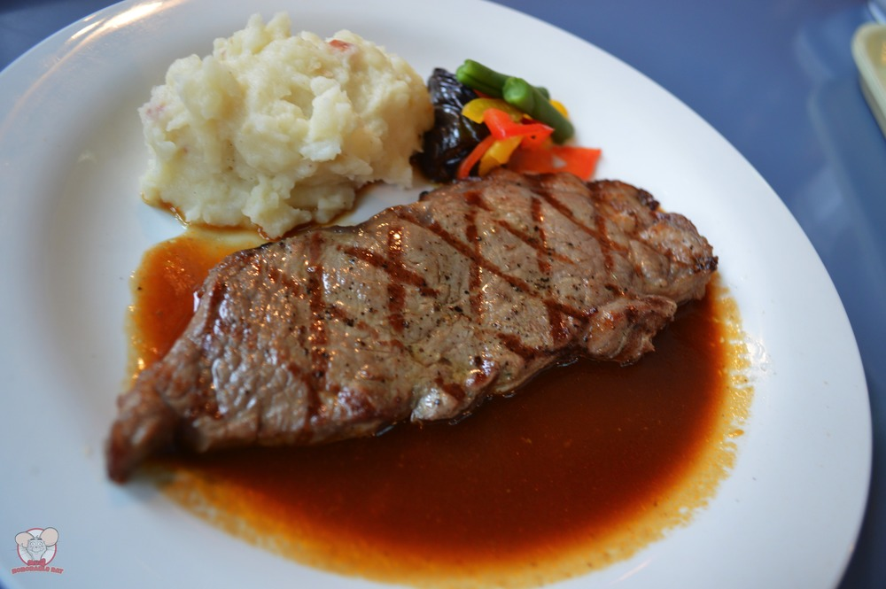Grilled Beef Steak with Gravy (Yuzu Flavor)