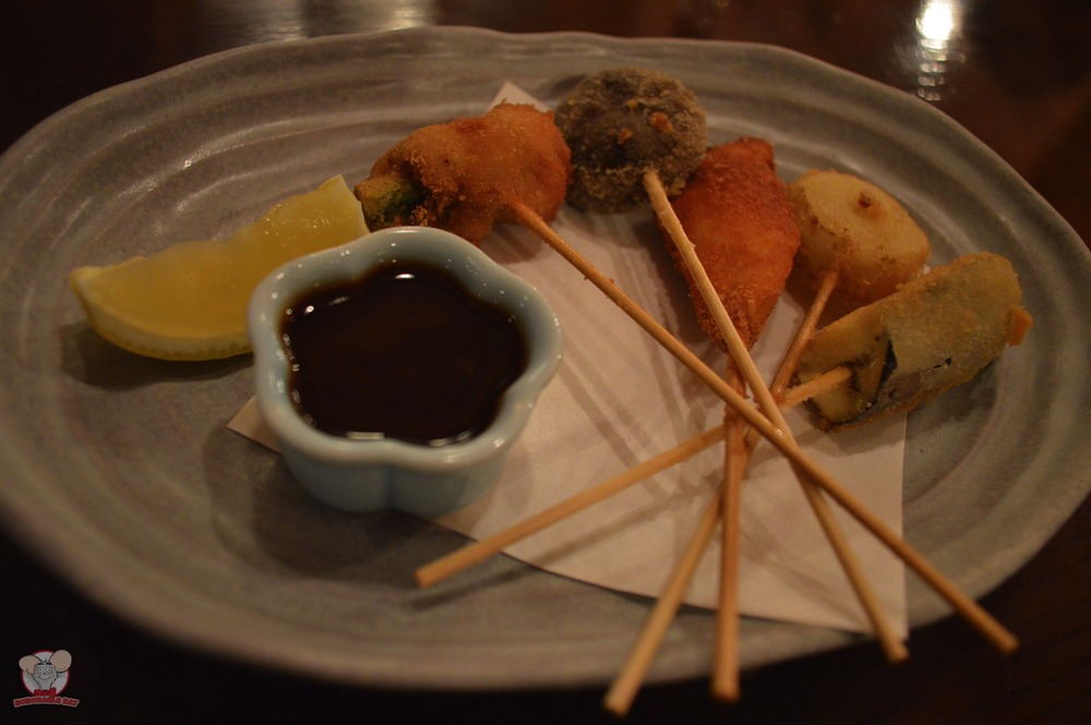 Assorted Deep Fried Skewers
