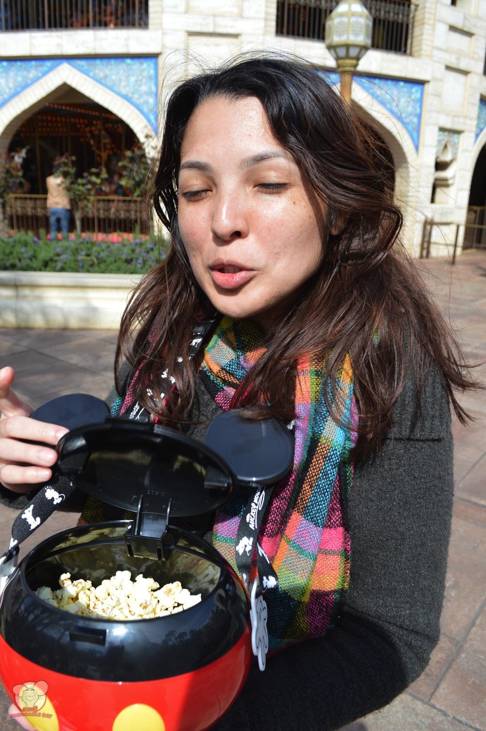 Nadia, The Curry Popcorn Lady