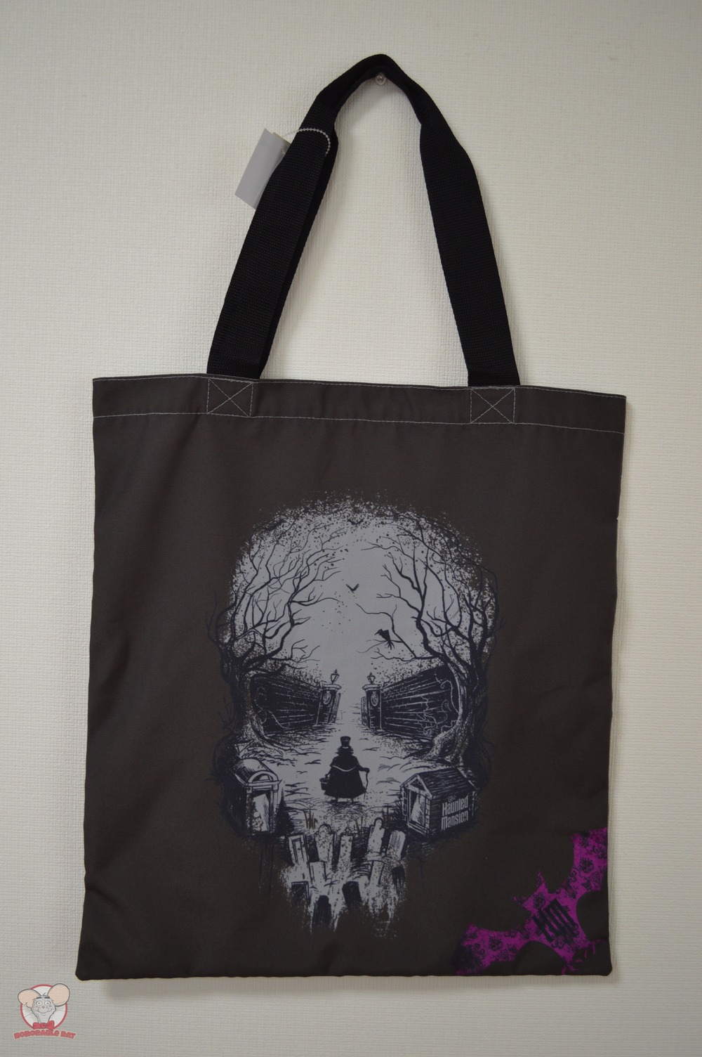 Limited Edition Haunted Mansion Tote Bag (Back)