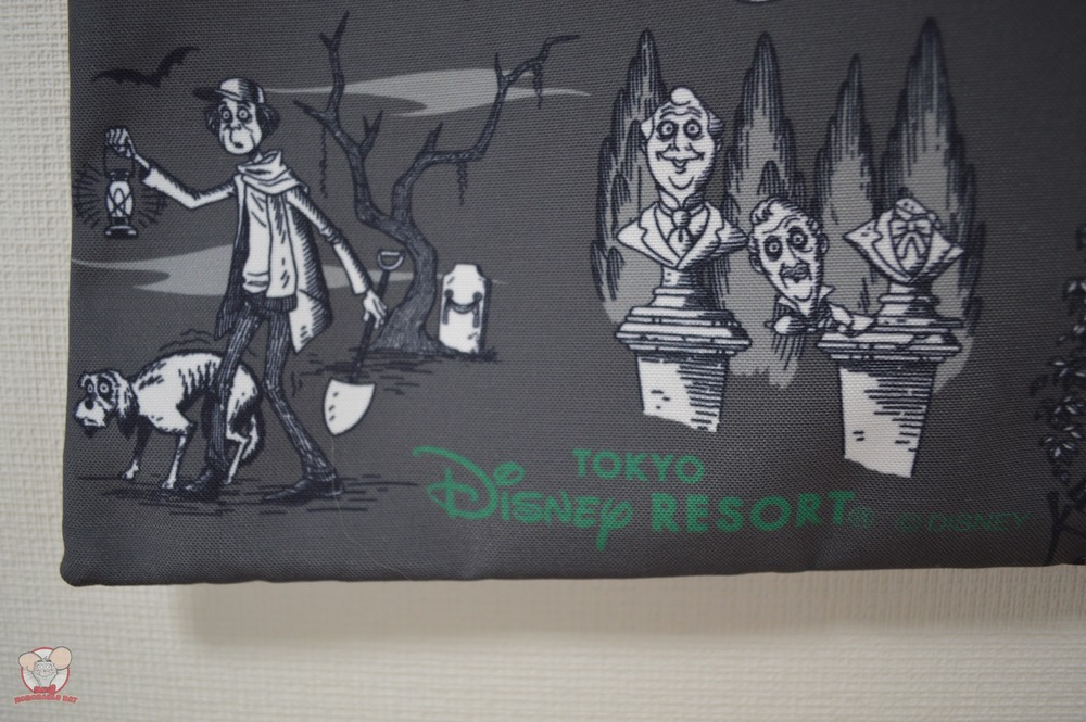 Official Tokyo Disney Resort Haunted Mansion Tote Bag