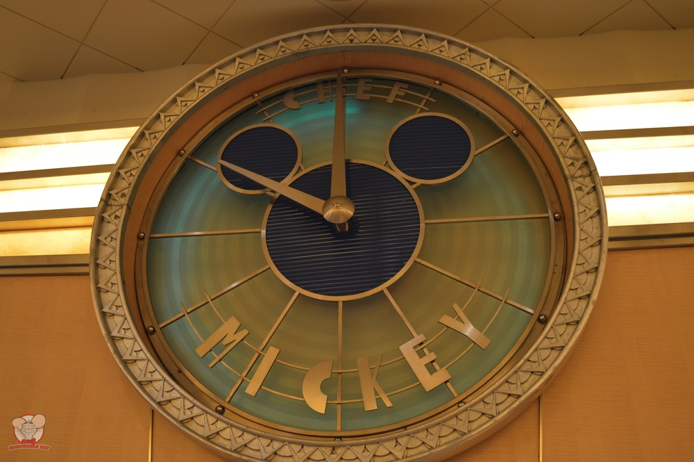 Chef Mickey Clock