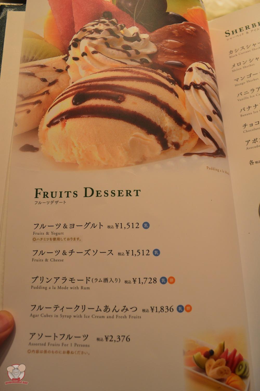 Fruits Dessert Page 1