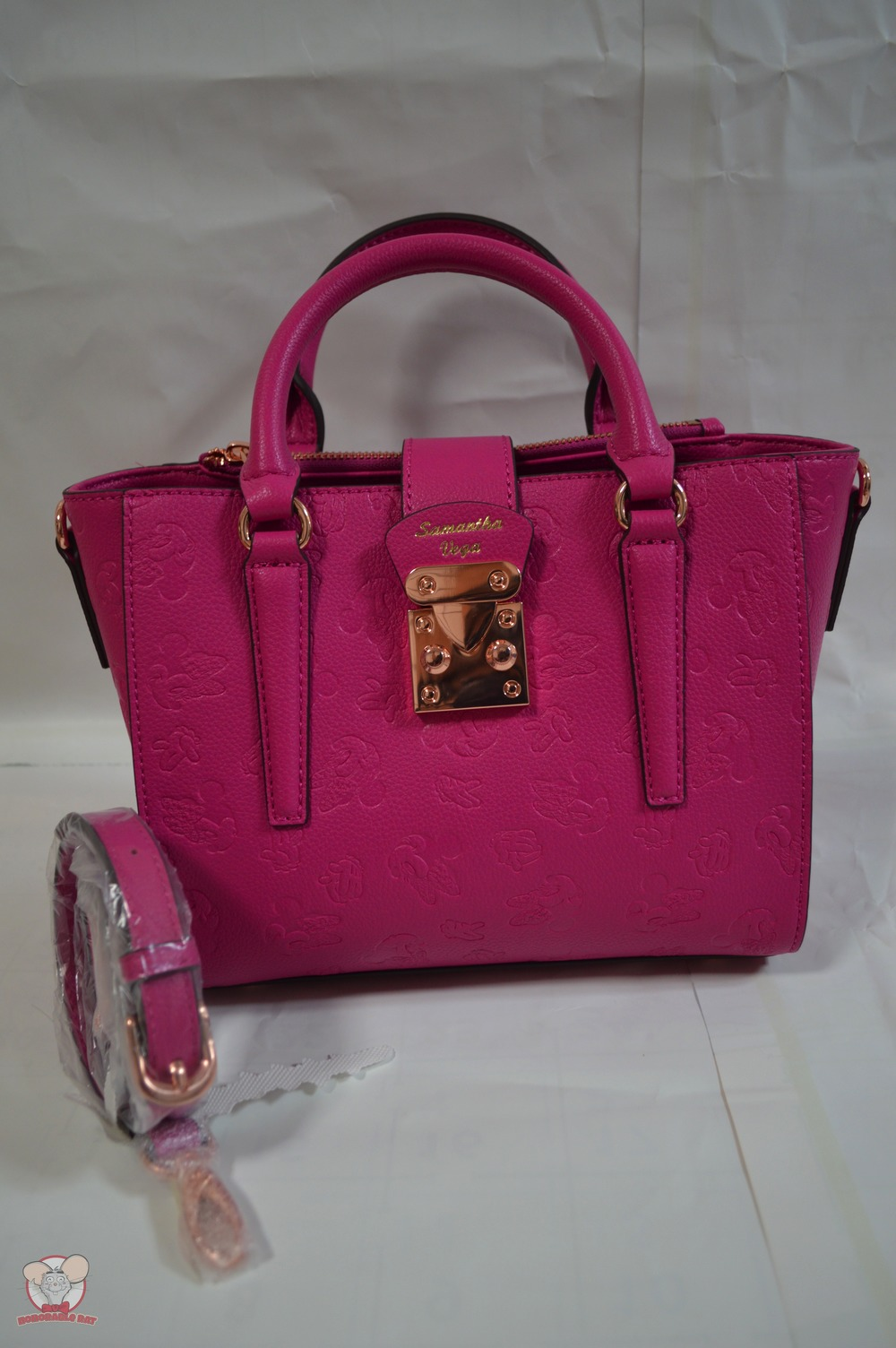 Samantha Vega Bag with Minnie Print