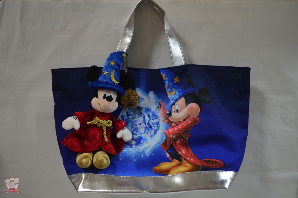 D23 Expo Japan 2015 Bag with Sorcerer Mickey Plush Toy