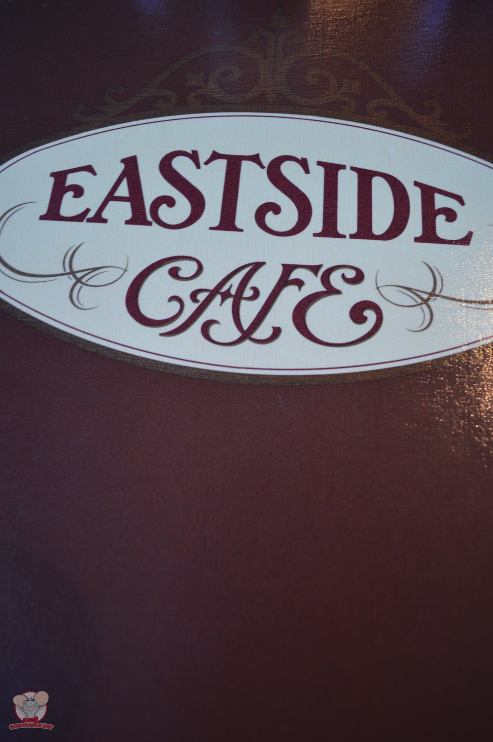 Eastside Cafe Menu Cover