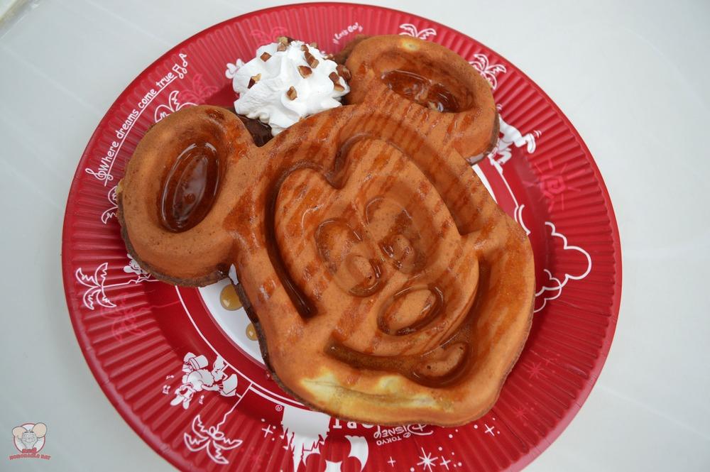 Maple Sauce Mickey Waffle