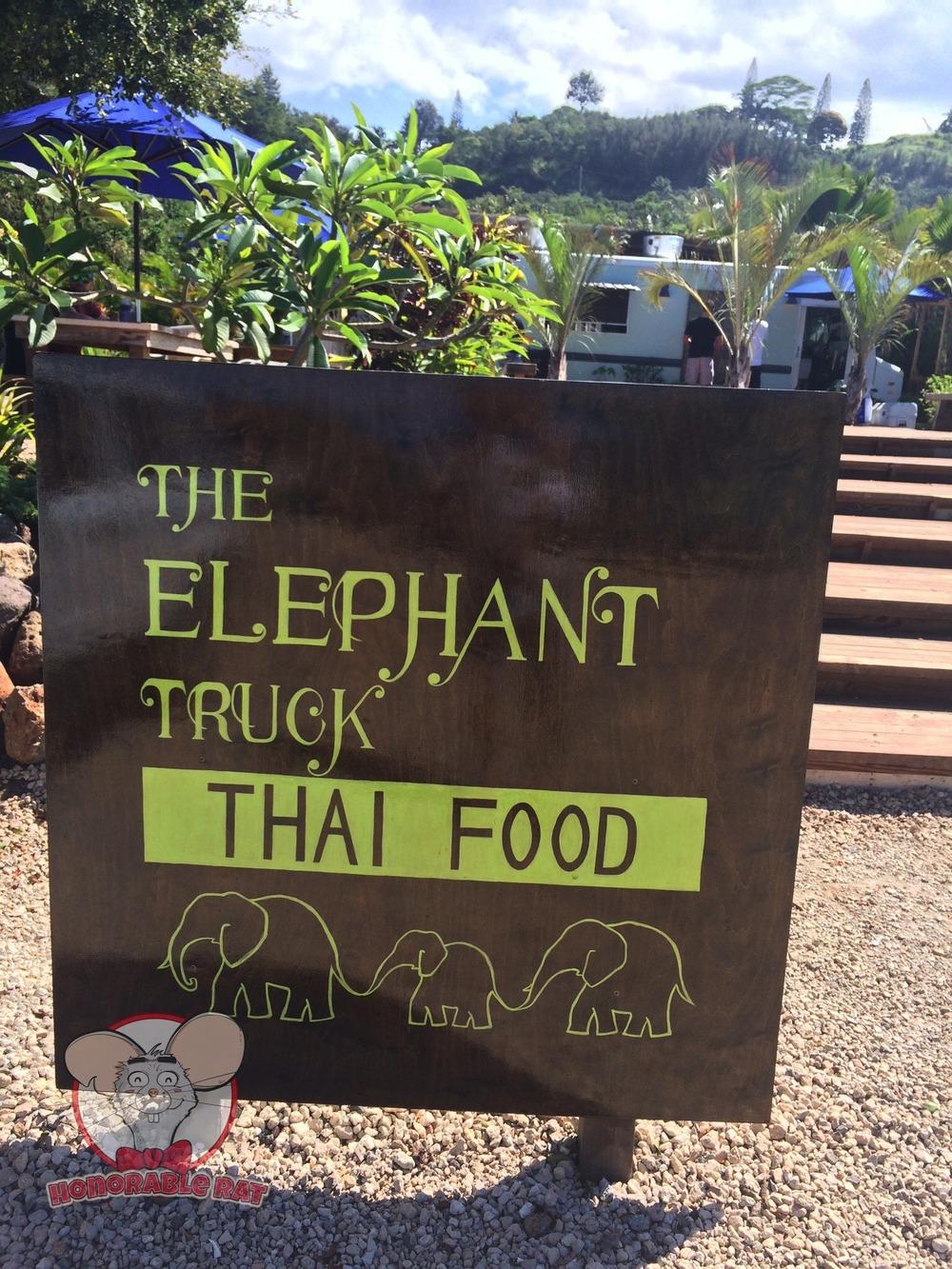 The Elephant Truck Signage