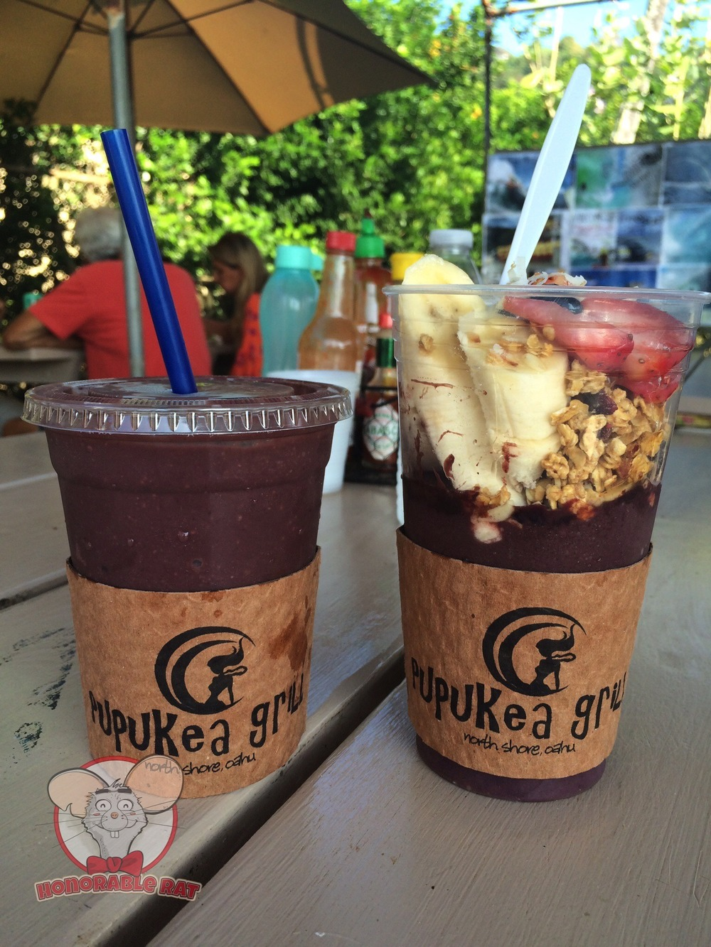 Acai and Acai Smoothie