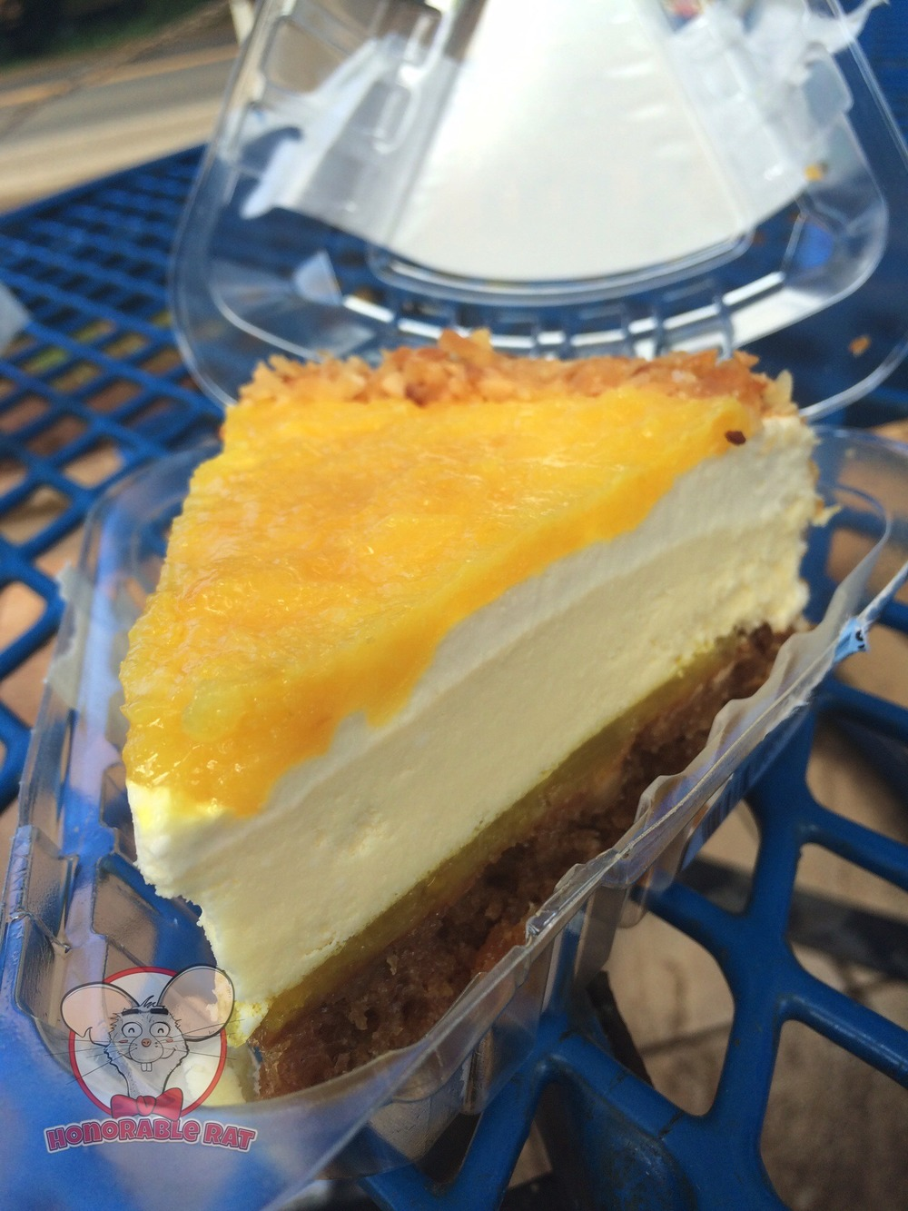 A Closer Look at Pineapple Macadamia Nut Cheesecake