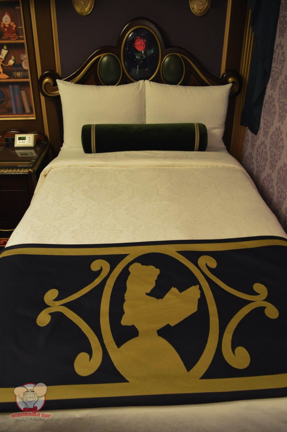 A comfortable bed fit for a King, or should I say Beast