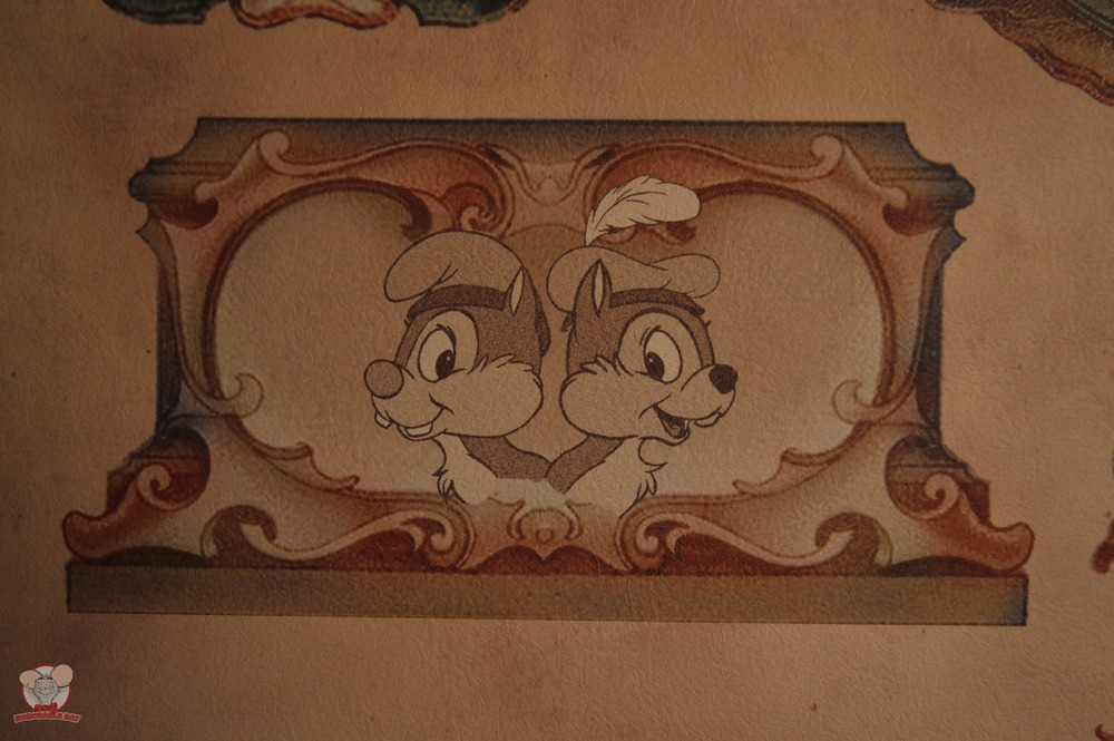 Chip & Dale Mural (Pantry Area)