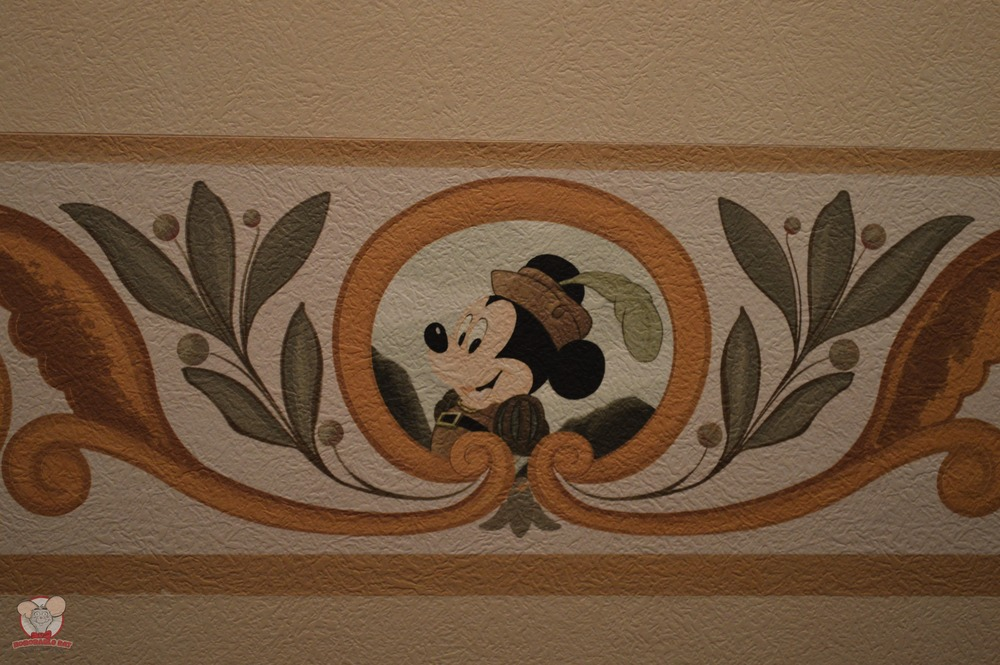 Mickey Mural (Bedding Area)