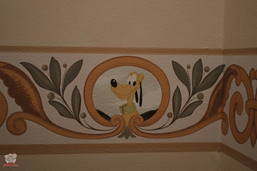 Pluto Mural (Bedding Area)