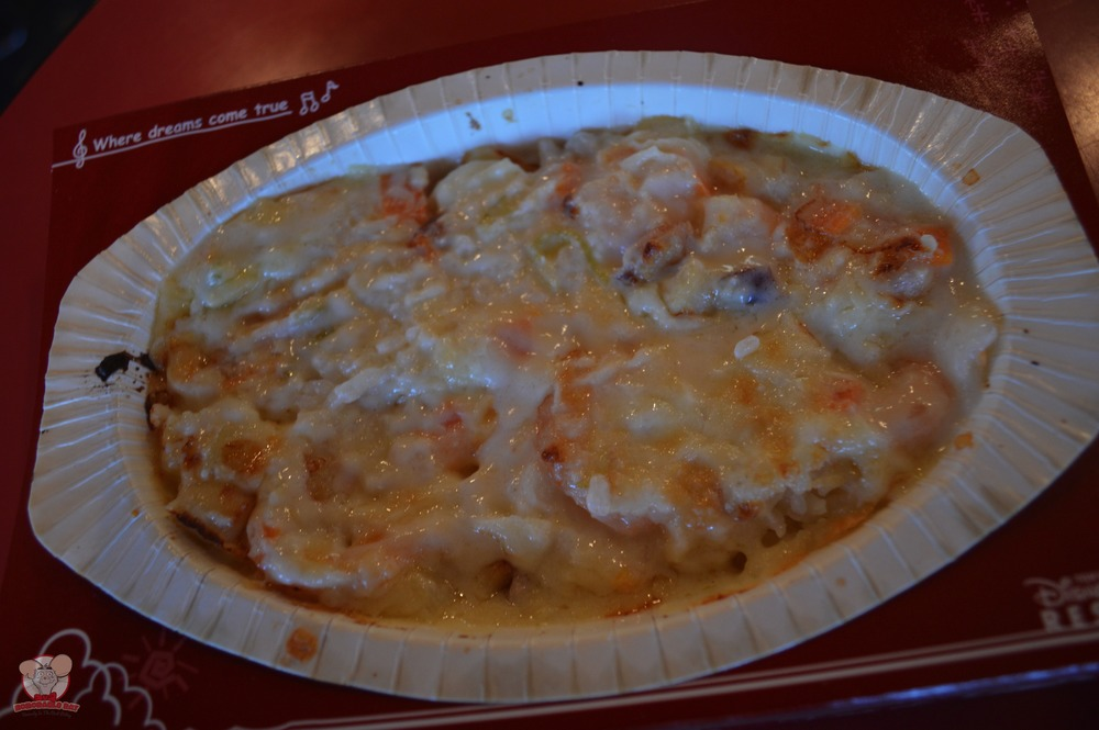 Seafood and Rice au Gratin