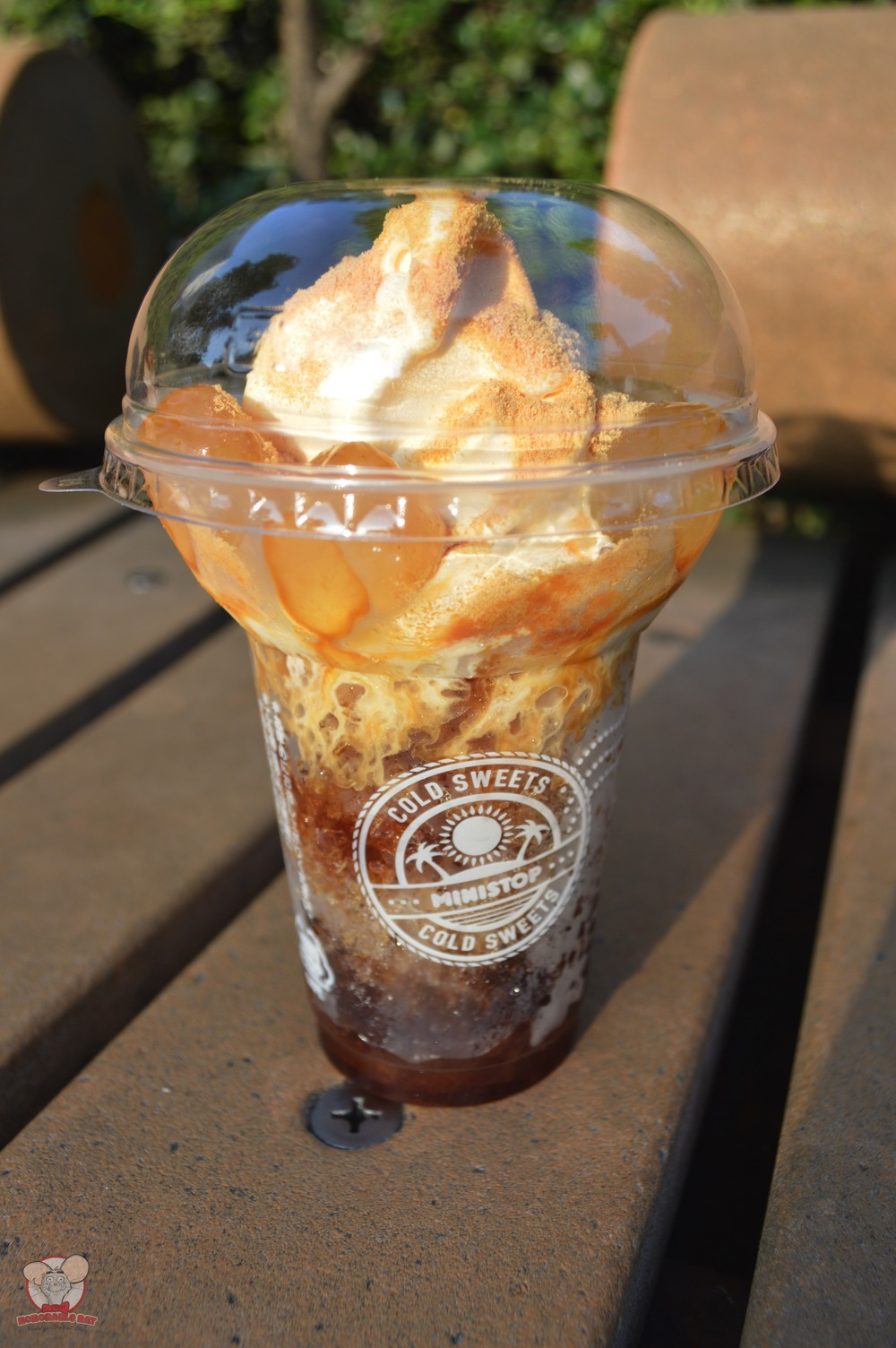 Kinako Brown Sugar Halo Halo from Mini Stop