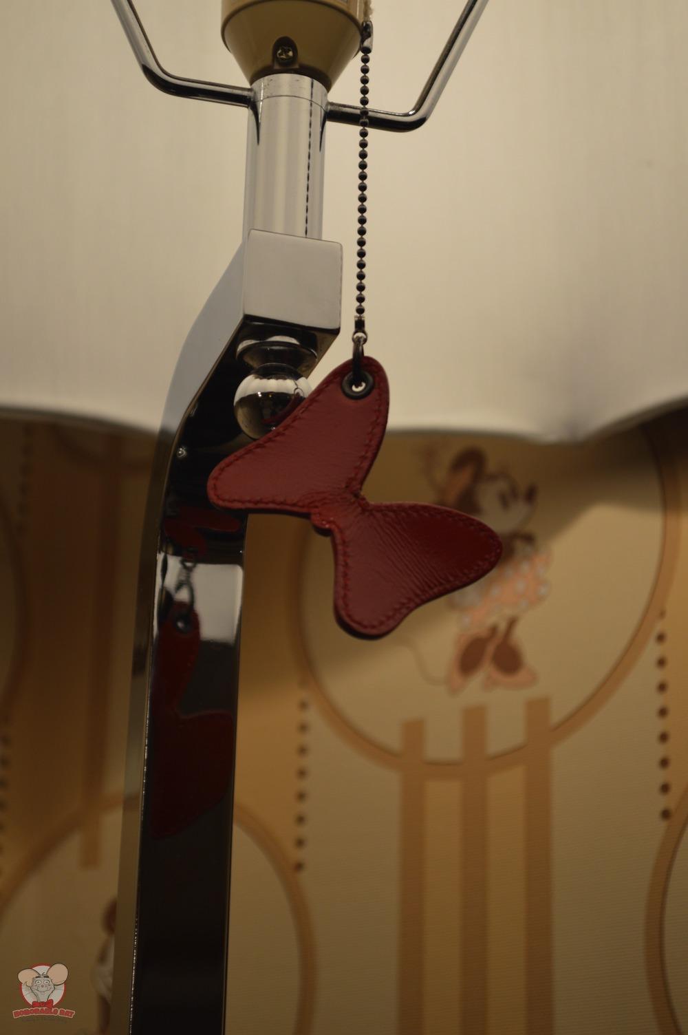 Minnie's bow on the light bulb chain