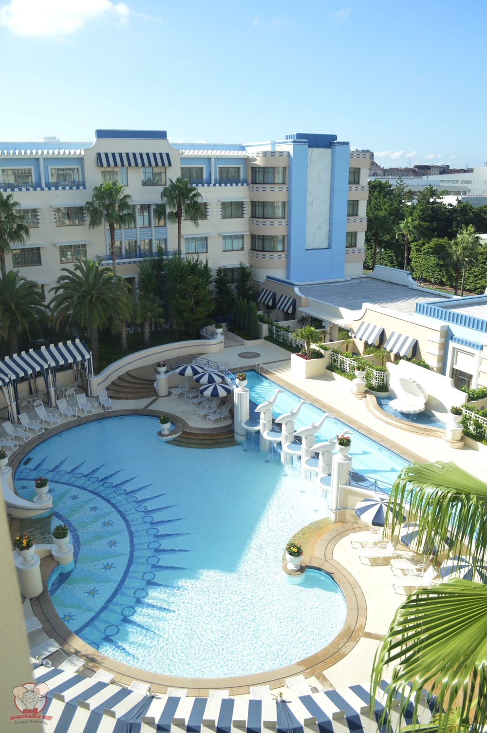 Ambassador Hotel's pool