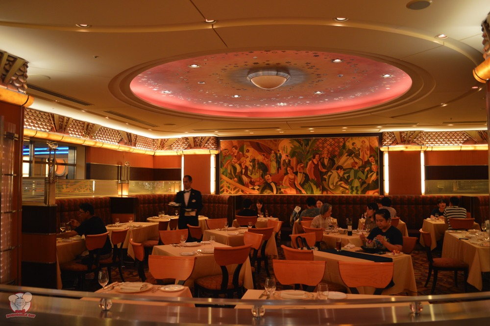 Empire Grill seating