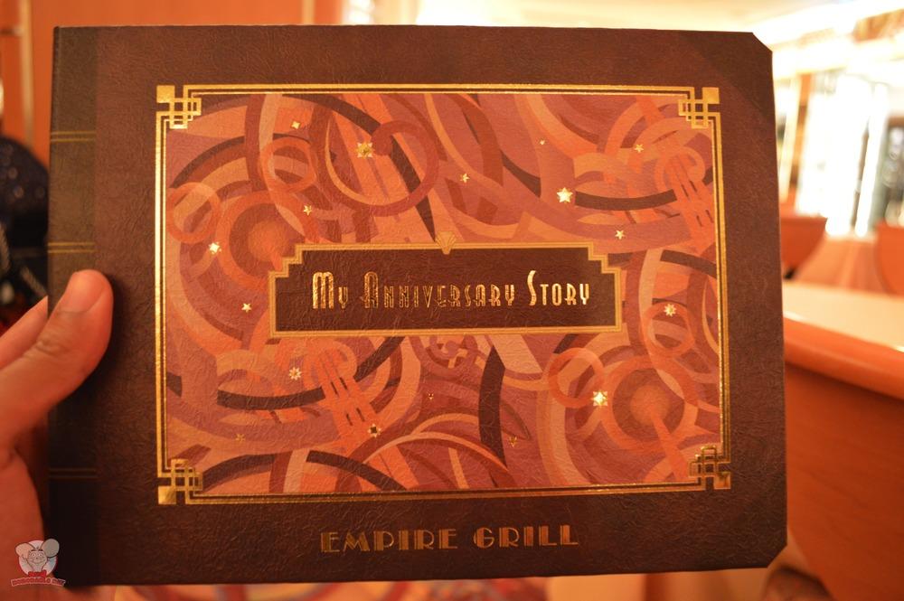 """My Anniversary Story"" storybook menu"