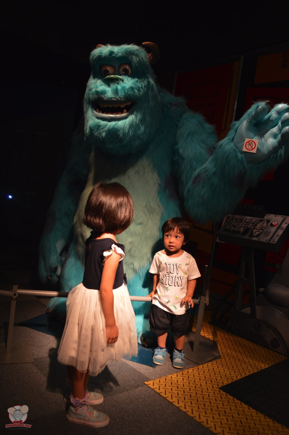 Kids with Sully