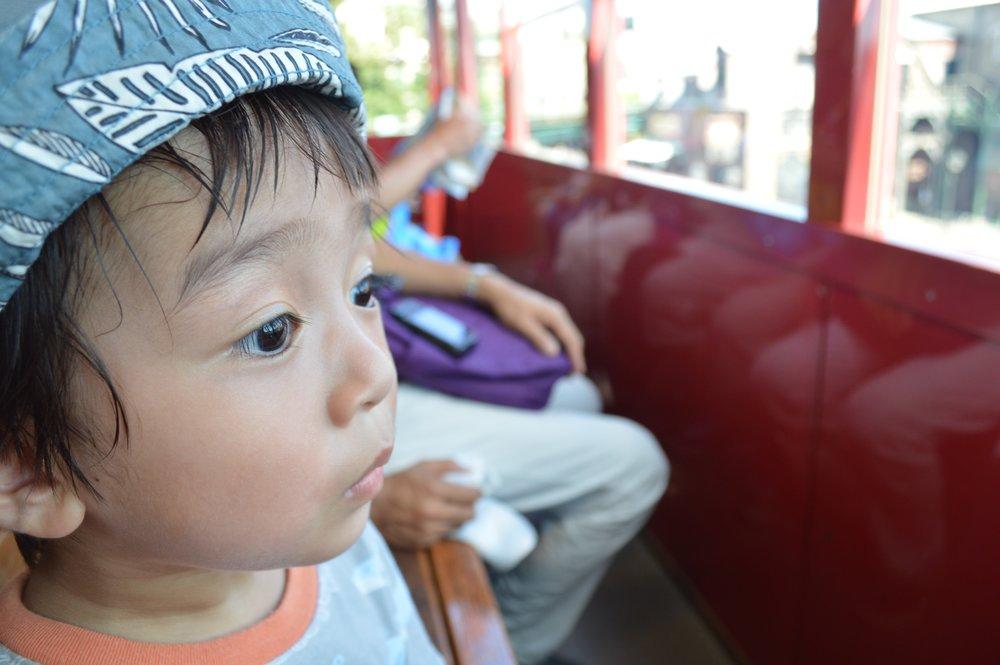 One of Baby Haku's favorite rides