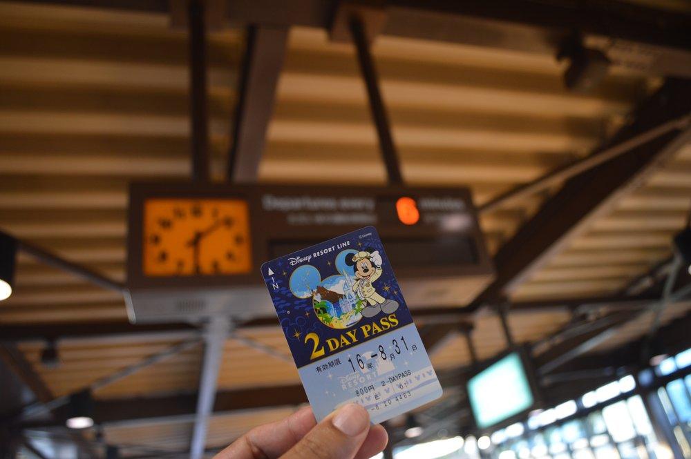 Tokyo Disney Resort Monorail Pass