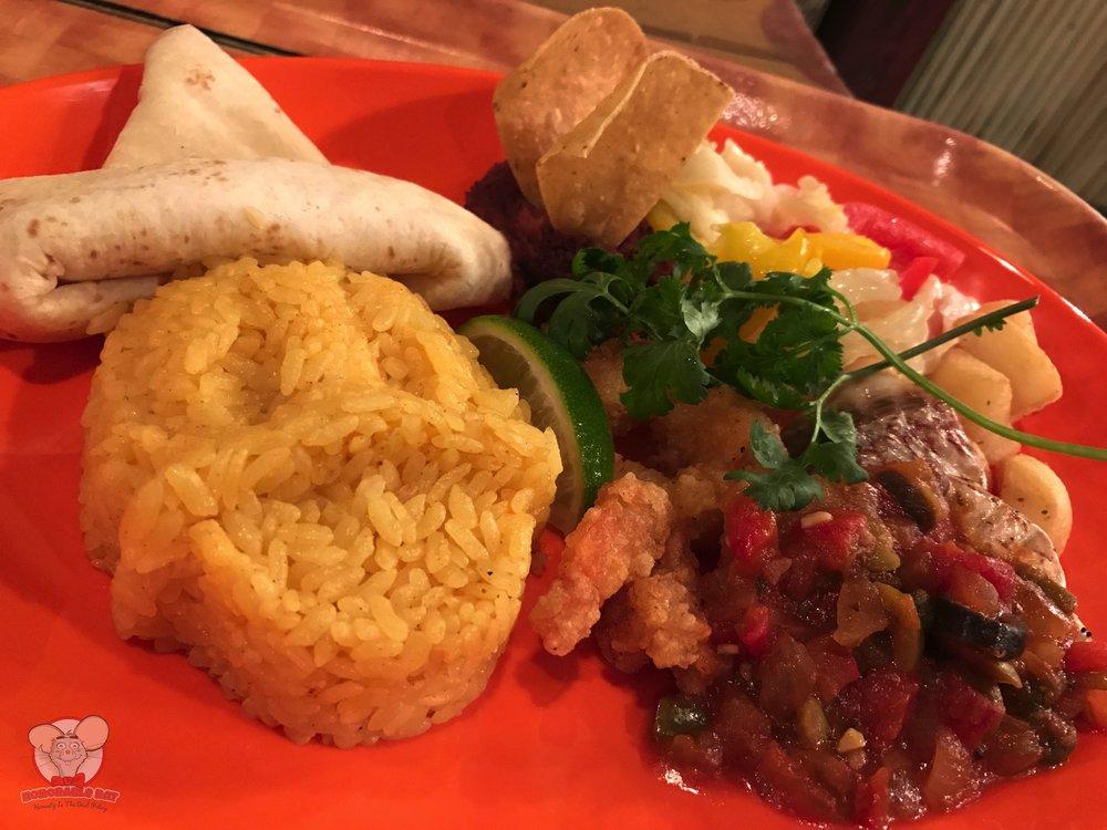 Fish & Shrimp Plate