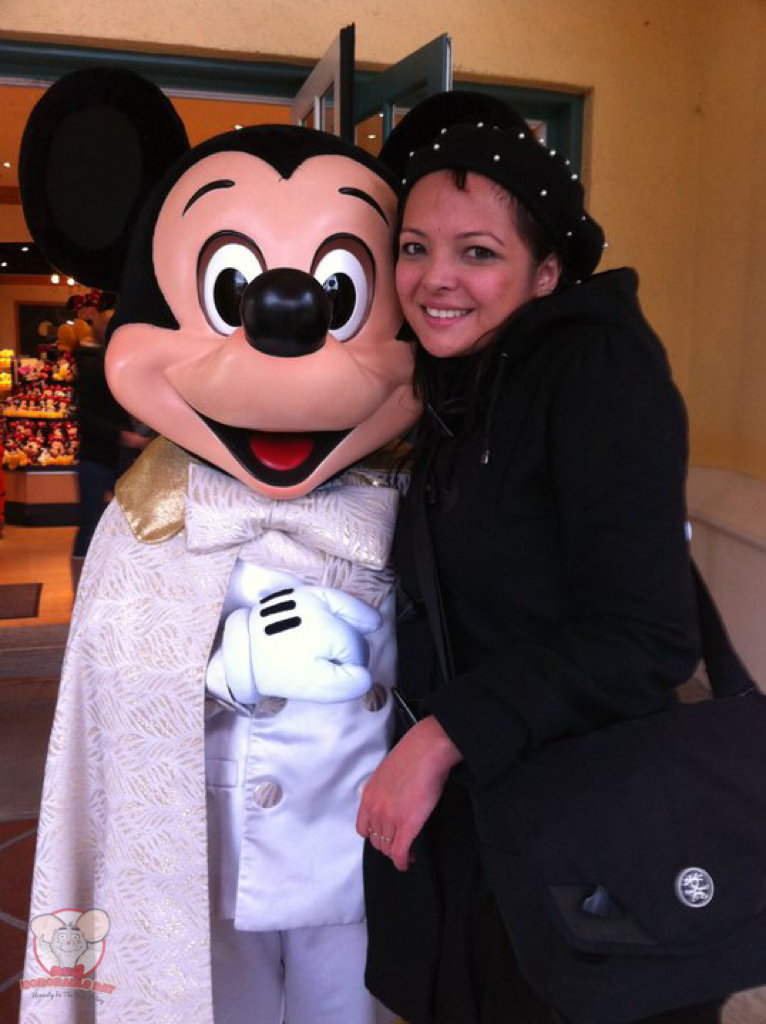 I actually cried when I got to Disneyland Paris, out of relief and disbelief