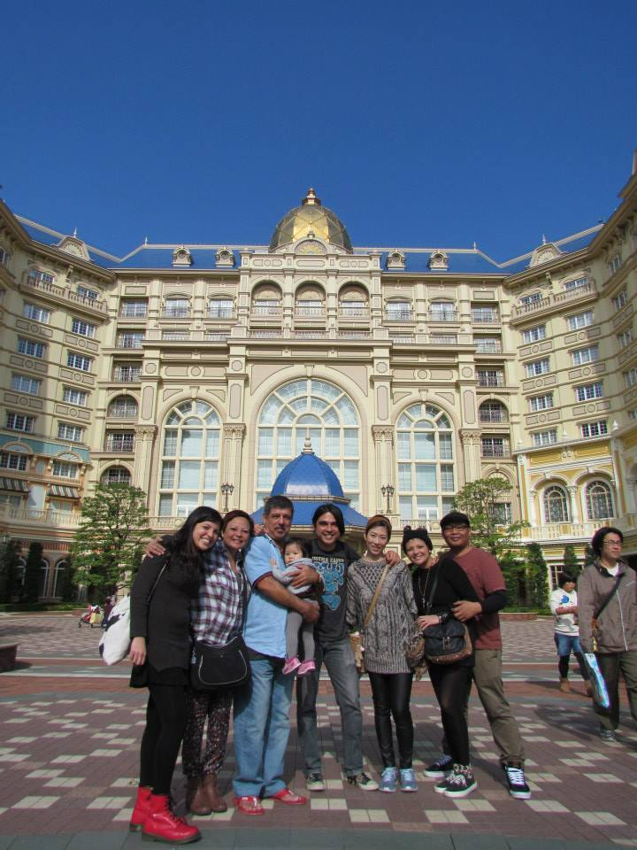 Travelling in magical style at Tokyo Disneyland Hotel.