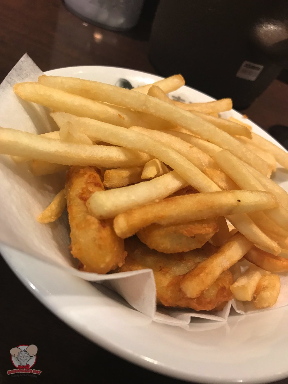 Fries and nuggets to deep into that amazing curry for 308 yen