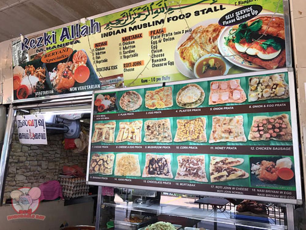 Rezki Allah Indian Muslim Food Stall