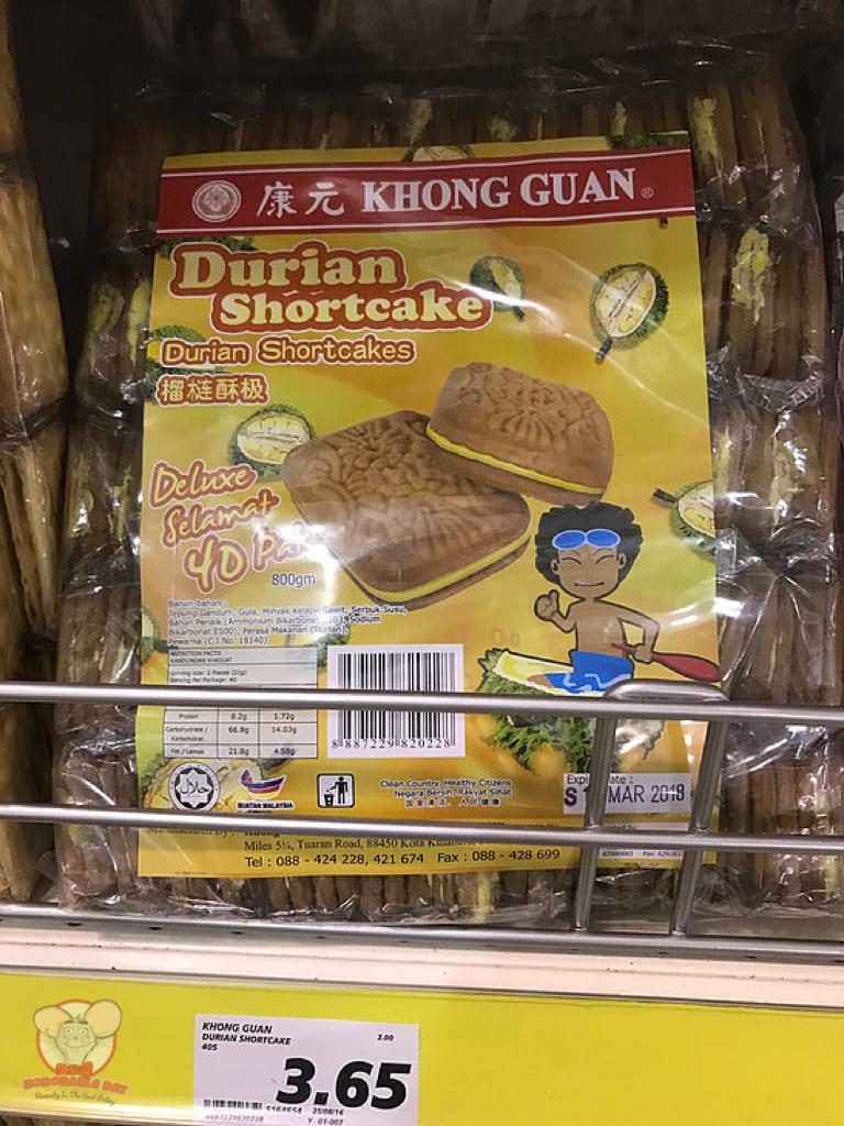 Khong Guan Durian Shortcake
