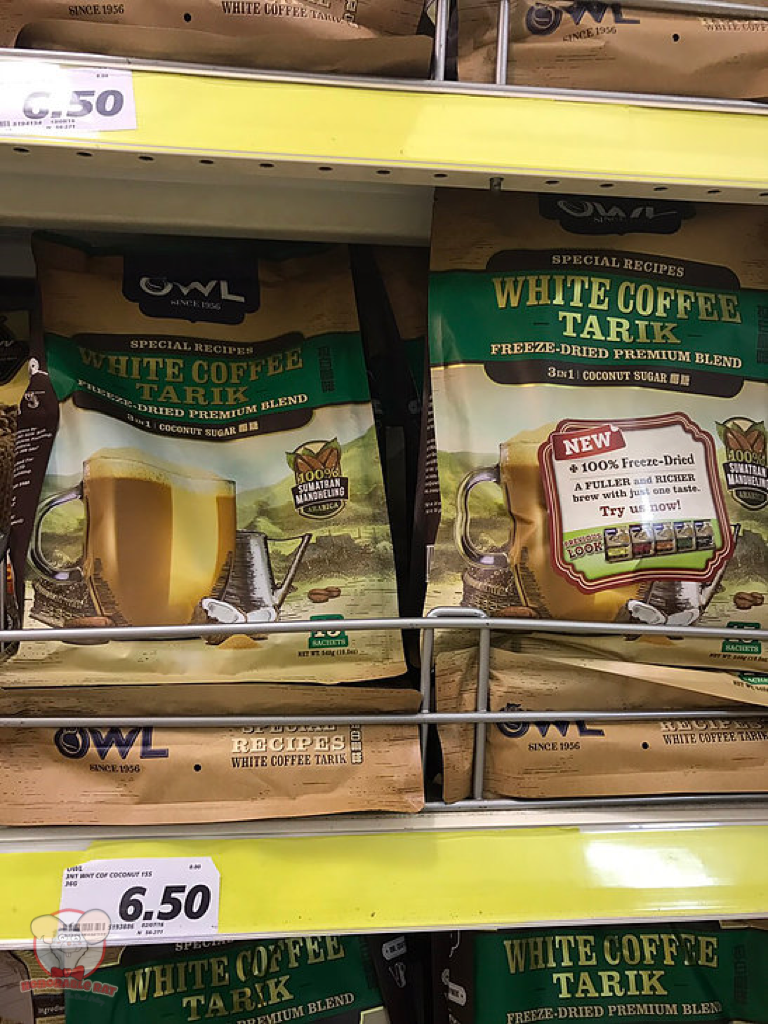Owl Brand White Coffee